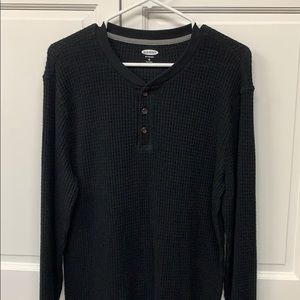 Old Navy soft washed 3 button Henley